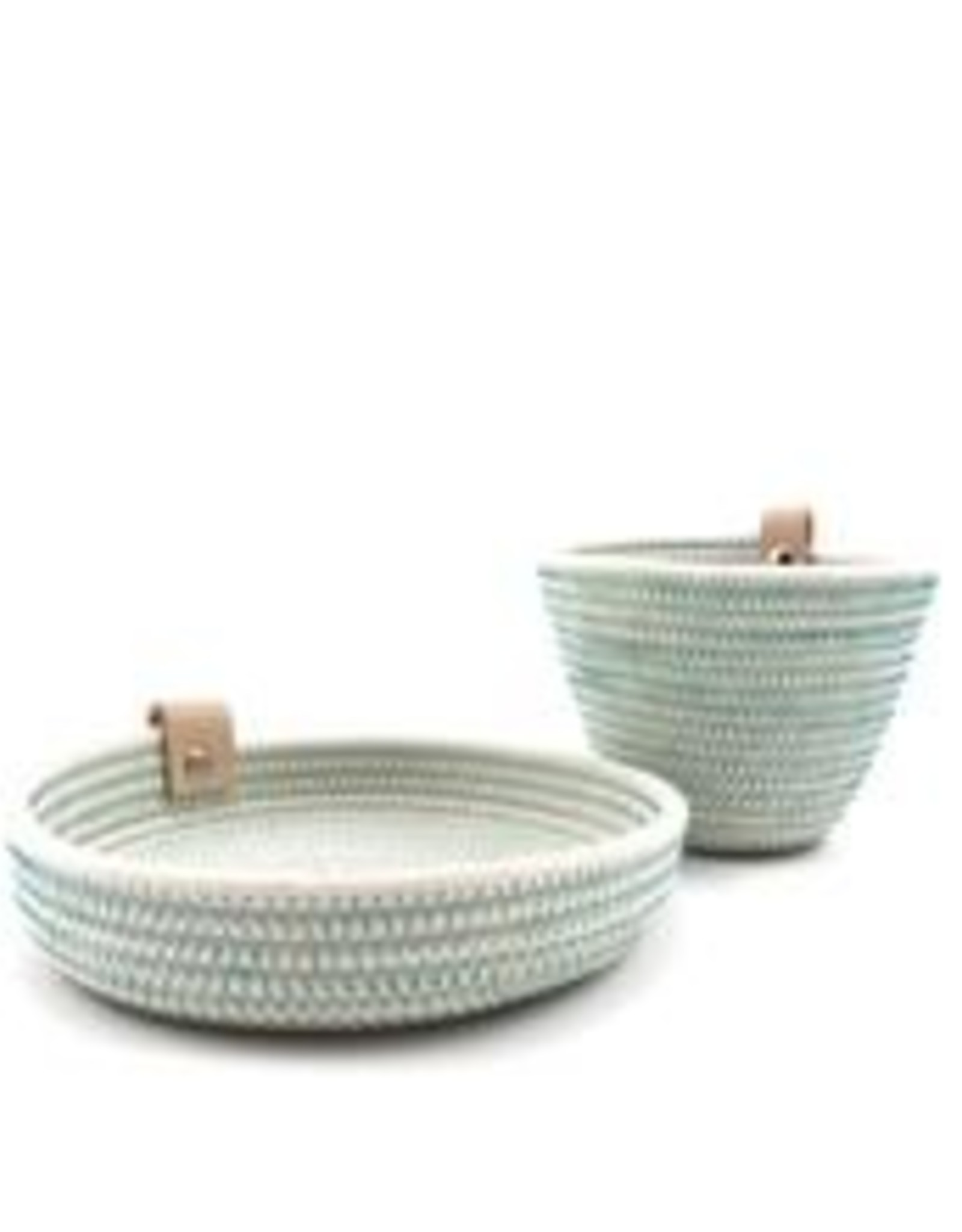 Koba Handmade Mini Bowl Low-turquoise 15x2cm