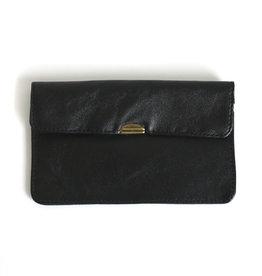 Flat Wallet-black