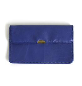 Flat Wallet-cobalt blue