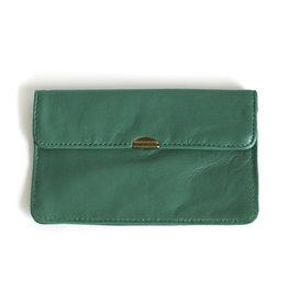 Flat Wallet-green