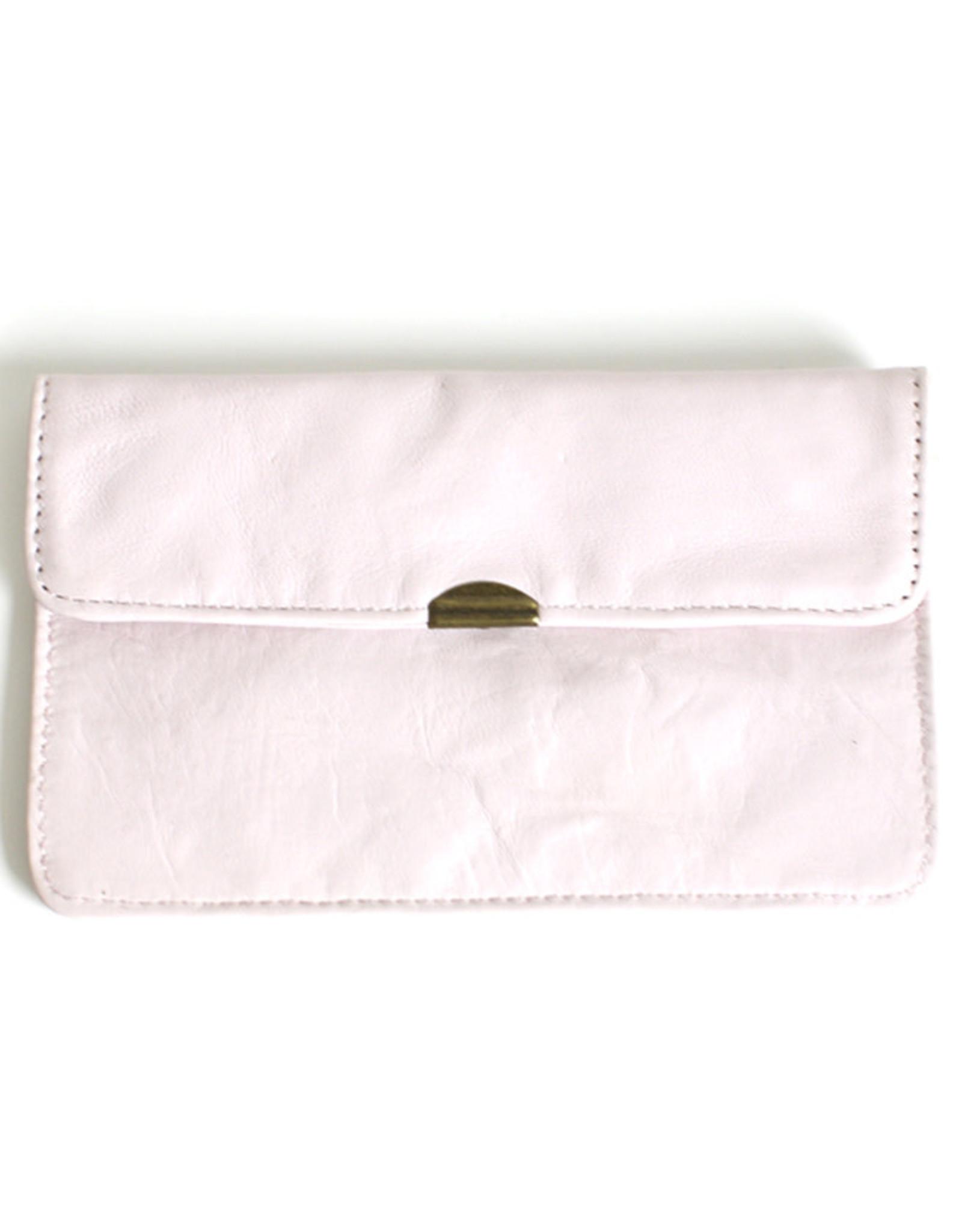 Flat Wallet-soft pink