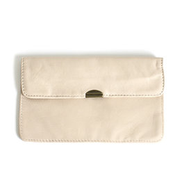 Flat Wallet-soft beige