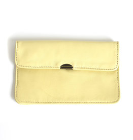 Flat Wallet-soft yellow
