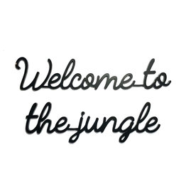 Goegezegd Quote Welcome to the jungle-black