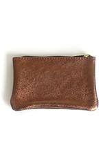 Glitter Wallet 10x16cm-bronze