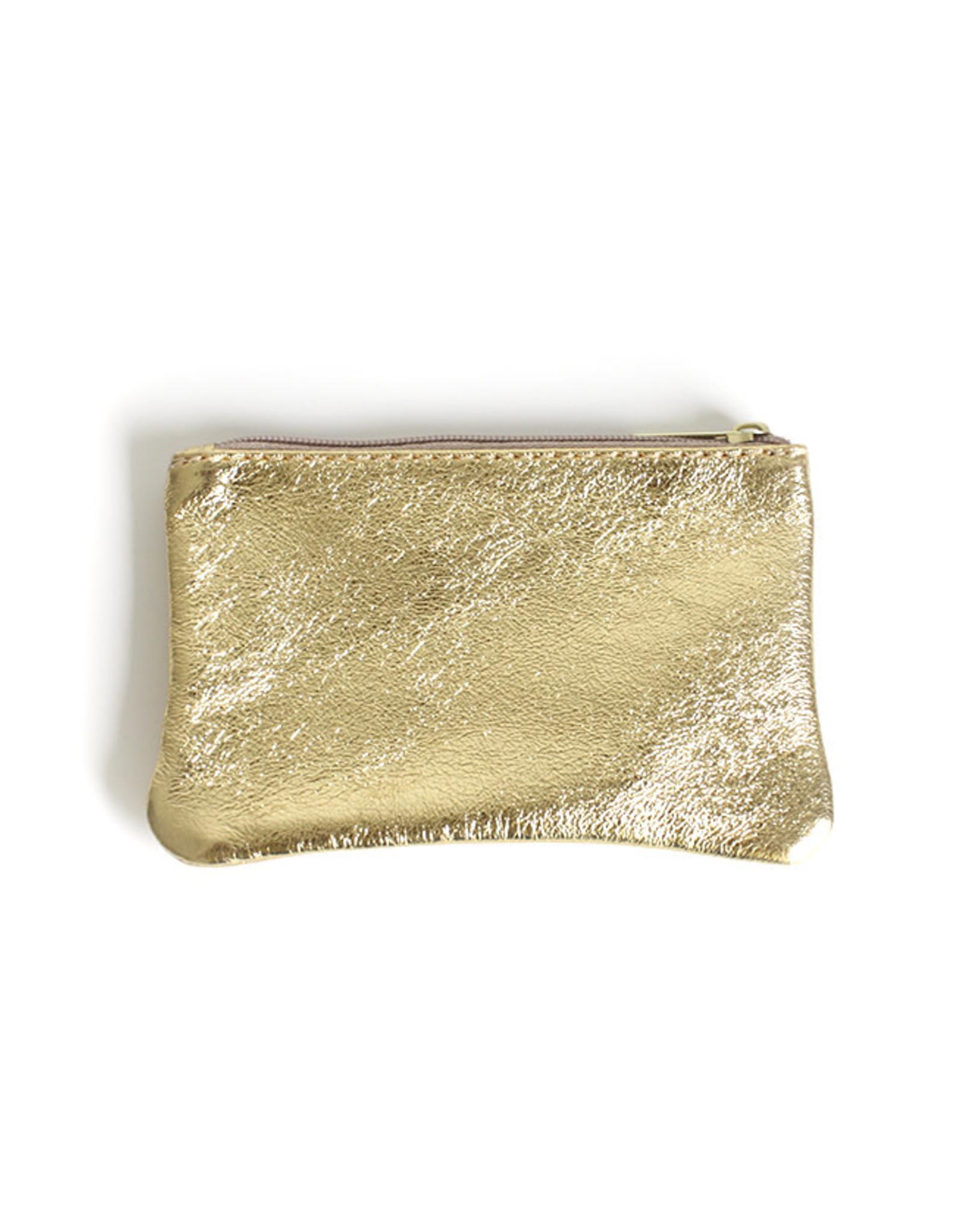 Glitter Wallet 10x16cm-gold