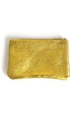 Glitter Wallet 10x16cm-yellow