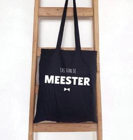 Tote Bag Tas van de meester-black