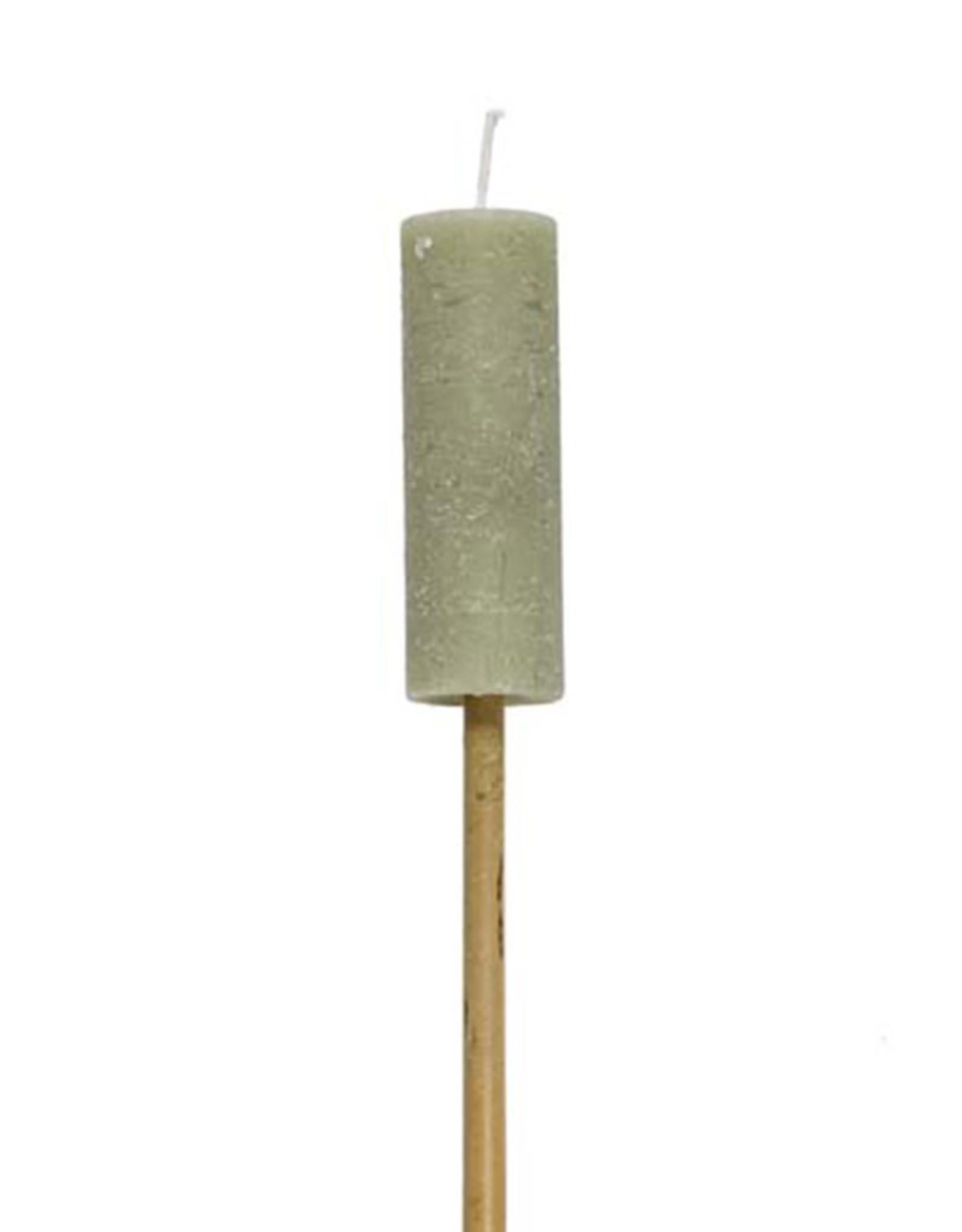 Rustik Lys Fakkel Candle-eucalyptus