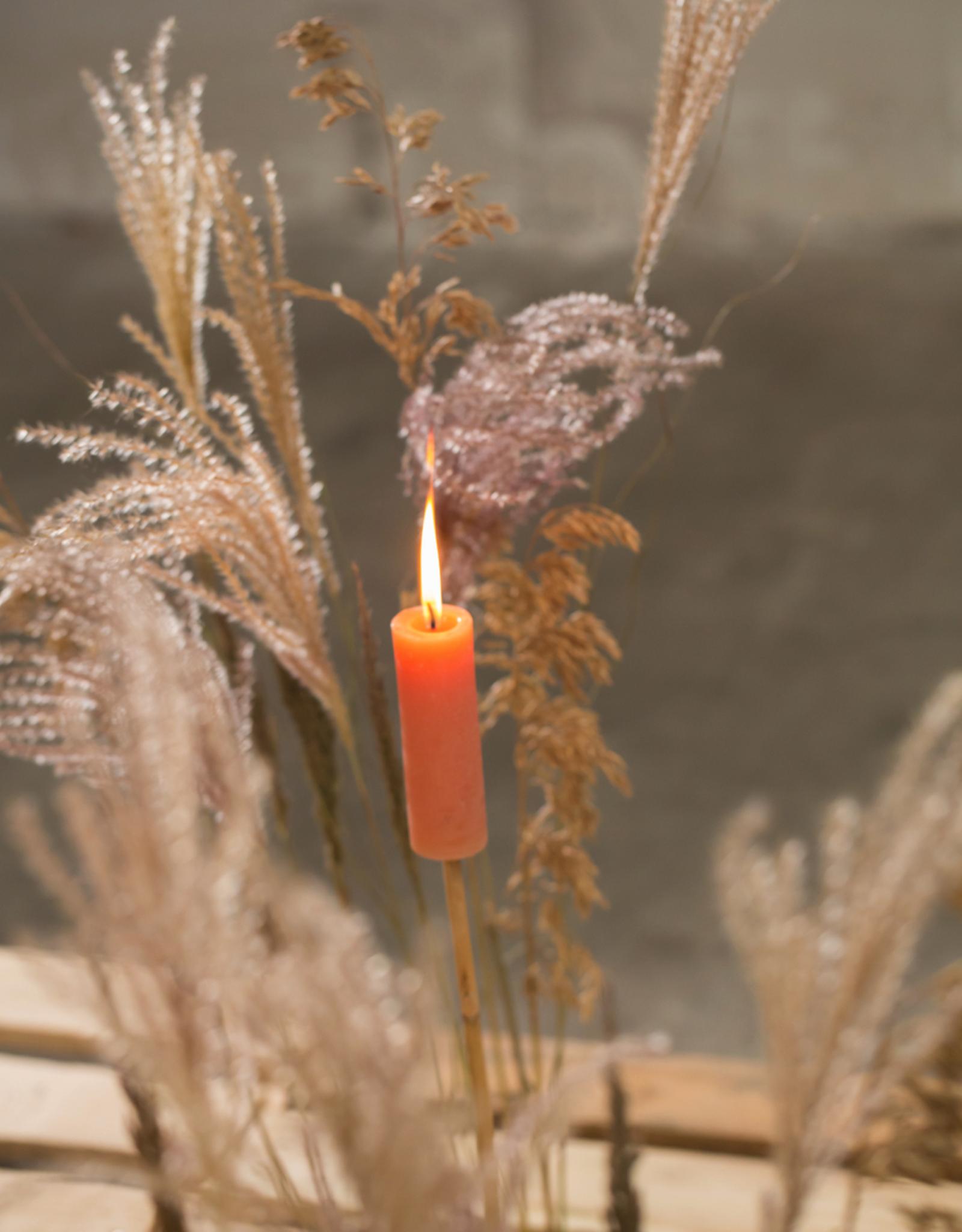 Rustik Lys Fakkel Candle-siena