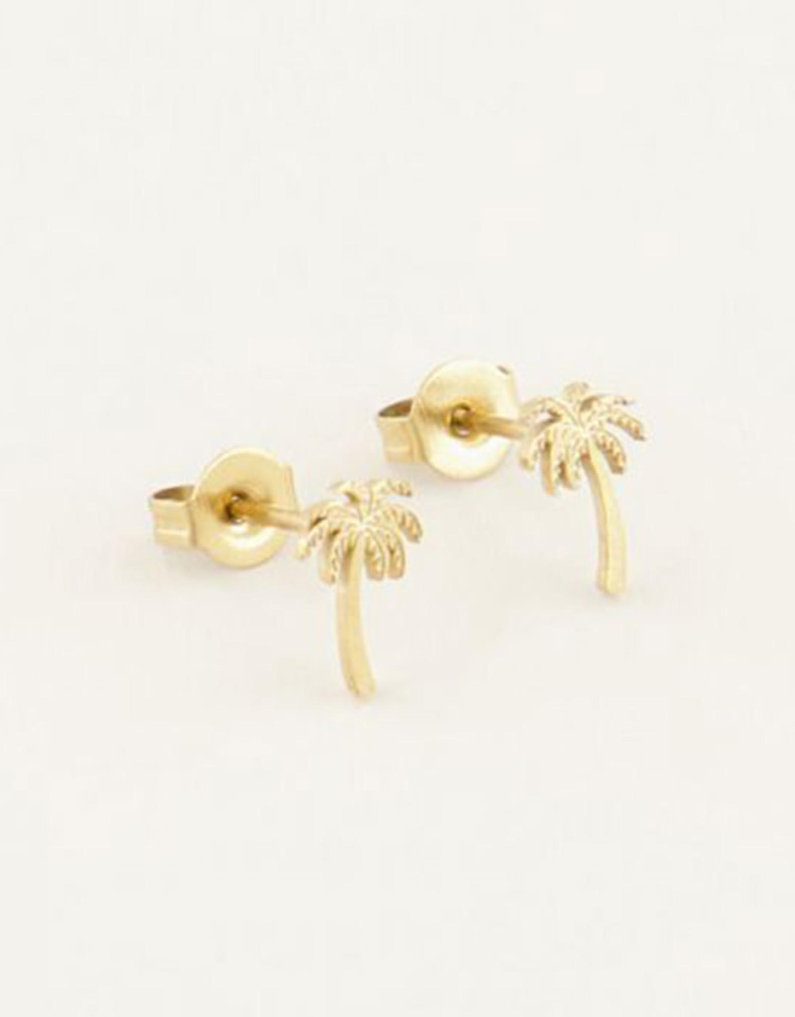My Jewelry Oorbellen Studs Palmtree-gold