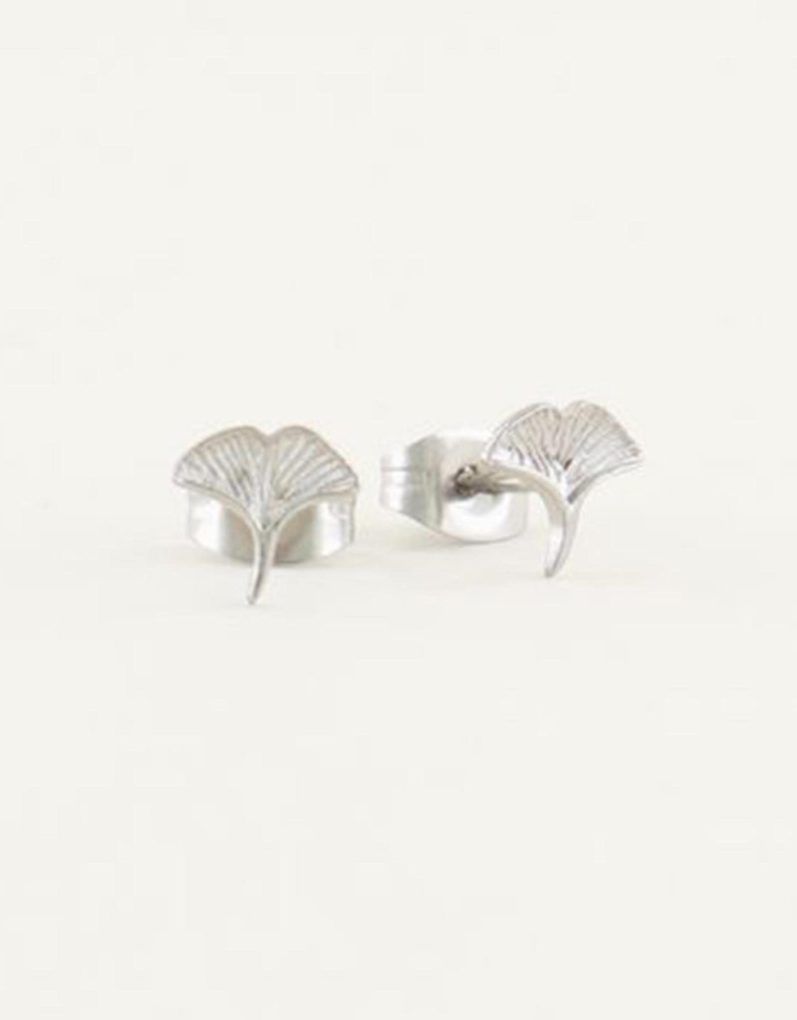 My Jewelry Oorbellen Studs Ginkgo-silver
