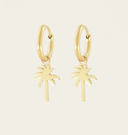 My Jewelry Oorbellen Creole Palmtree-gold