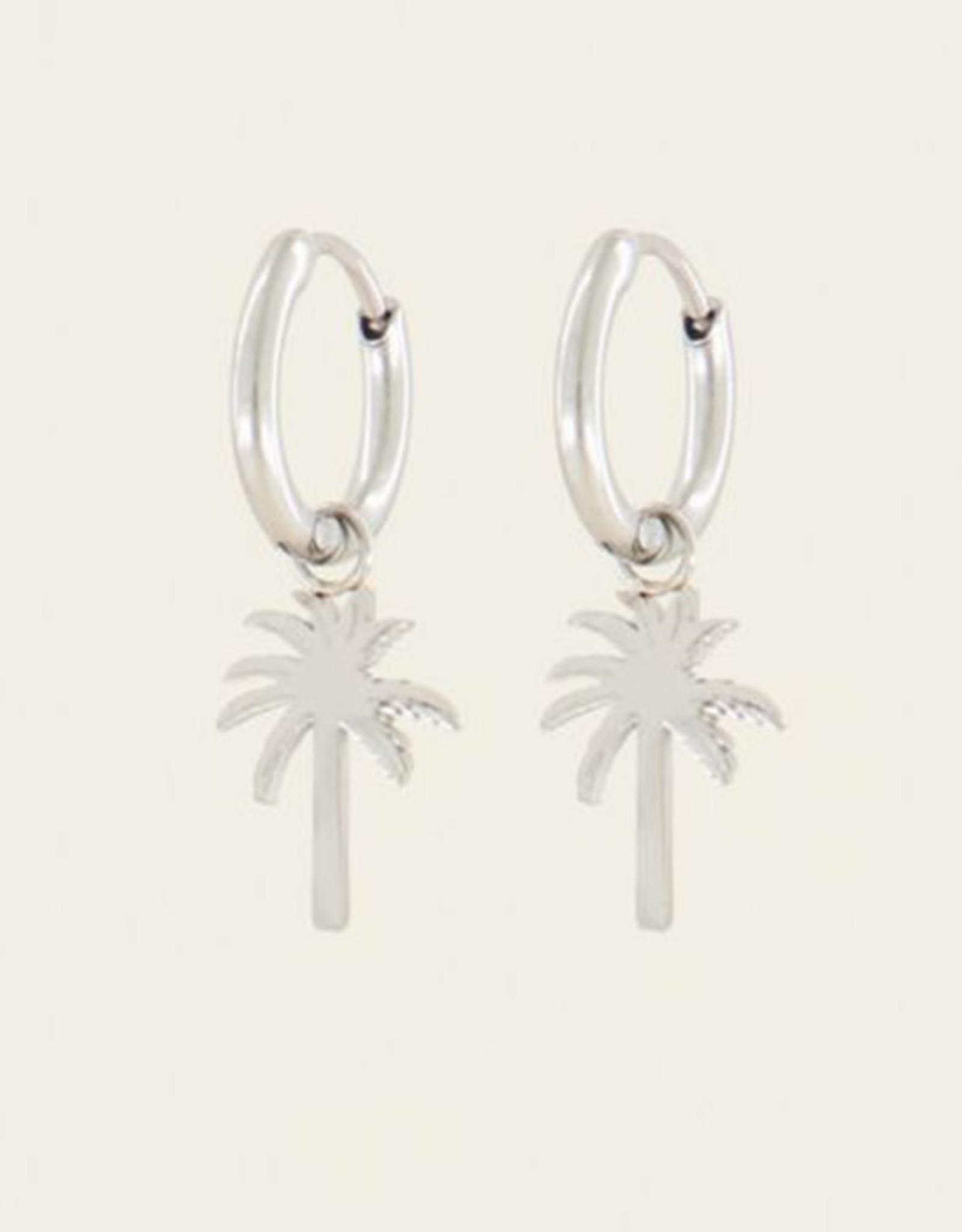 My Jewelry Oorbellen Creole Palmtree-silver