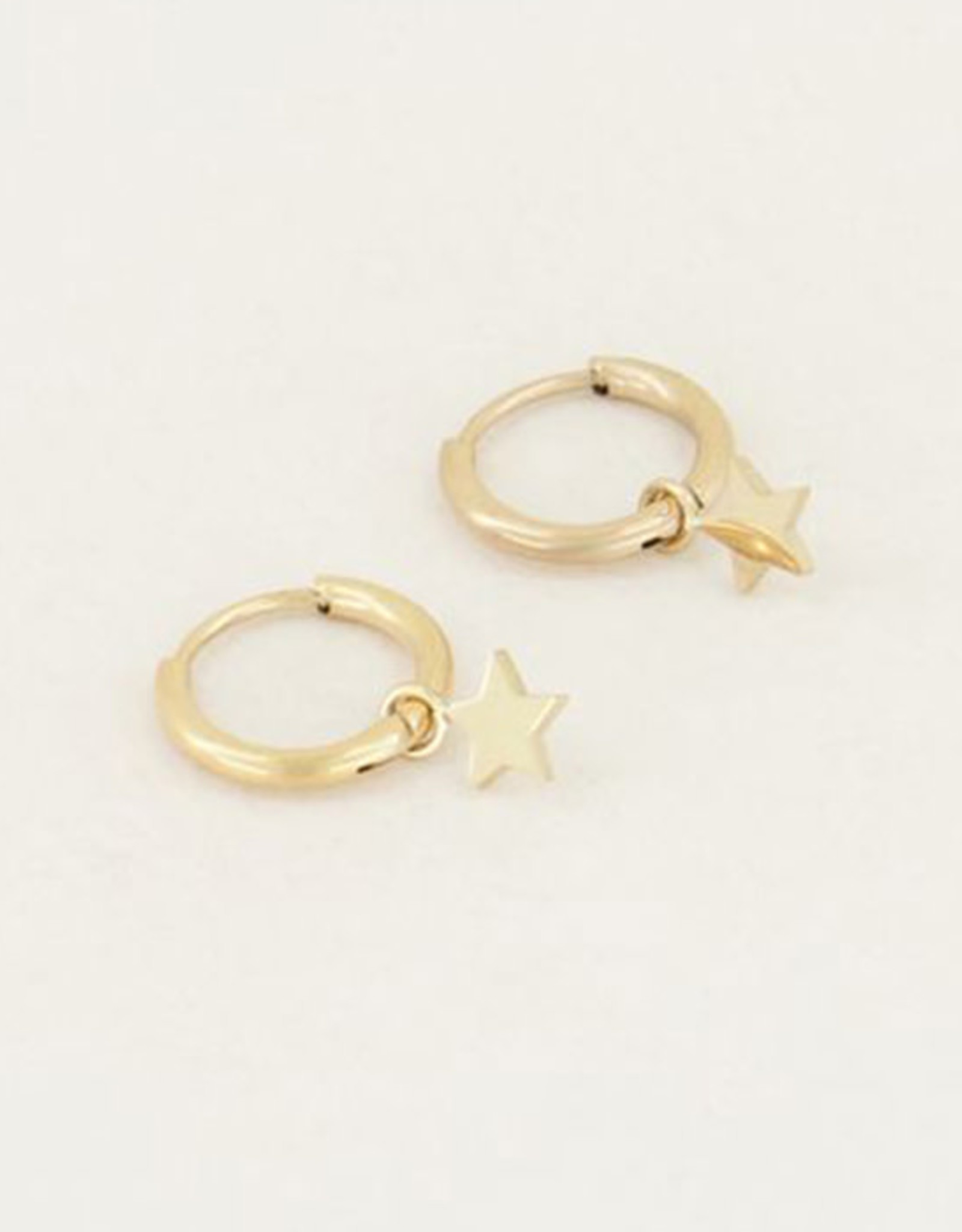 My Jewelry Oorbellen Creole Star-gold