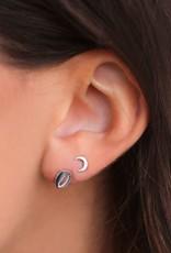 My Jewelry Oorbellen Studs Moon-silver