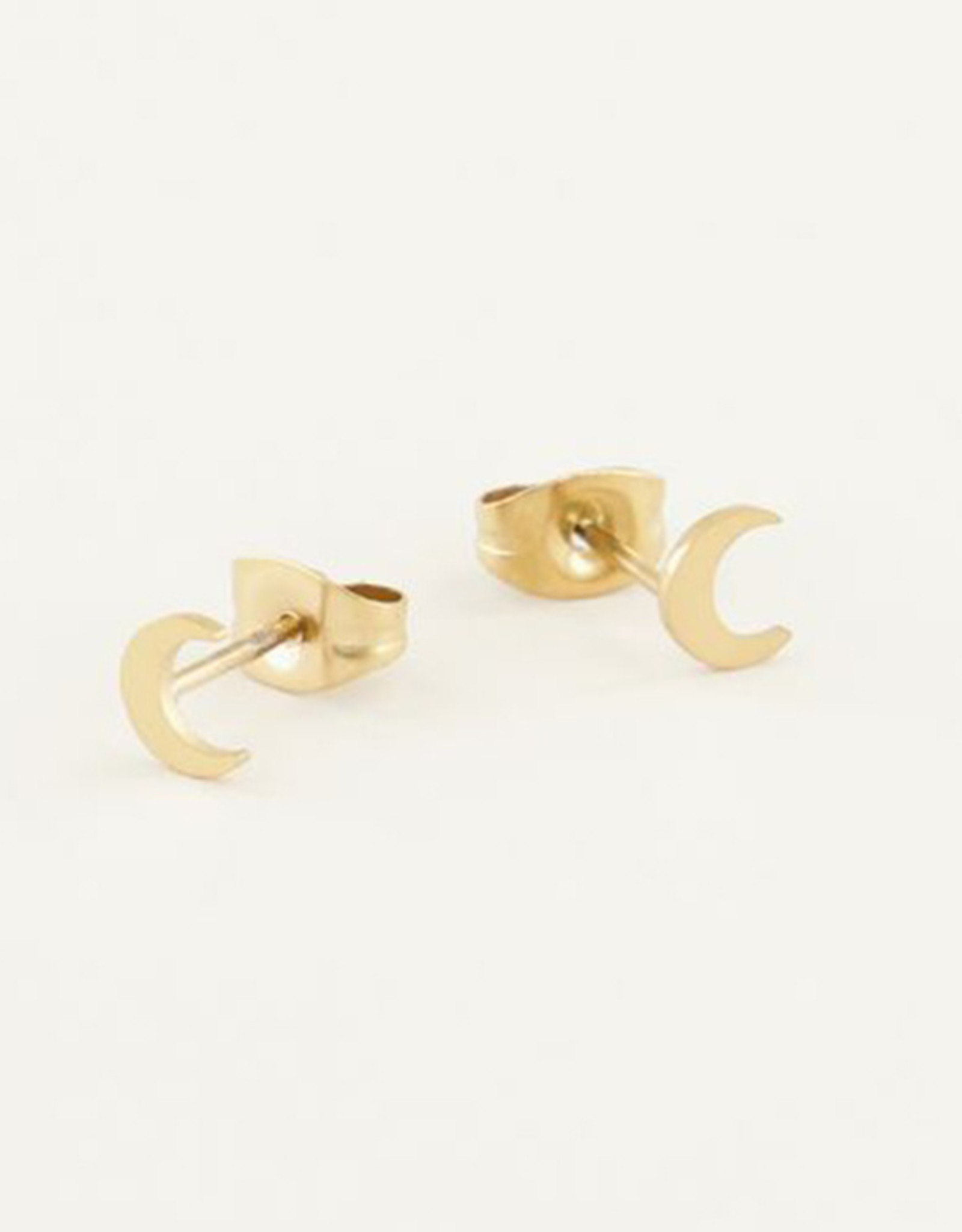My Jewelry Oorbellen Studs Moon-gold