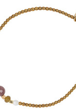 Jules Bean Armband Collectabean Vent du Sud-hematite/mix gems