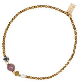 Jules Bean Armband Collectabean XL Vent du Sud-hematite/mix gems