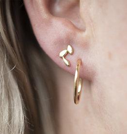 Jules Bean Oorbellen Studs Fleur-gold