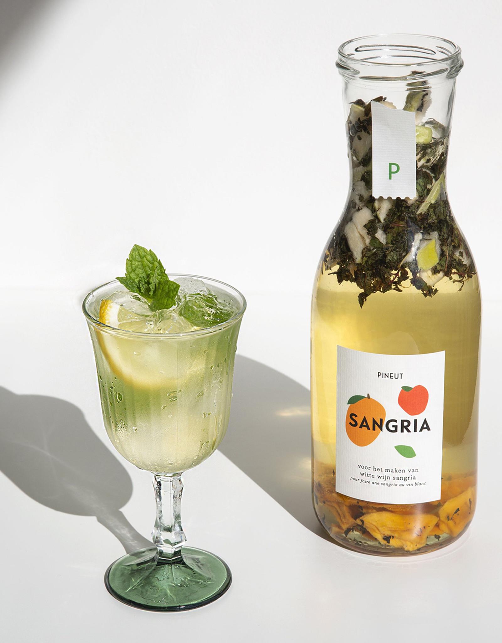 Pineut Likeur Pineut Sangria Witte Wijn-Fles 750ML