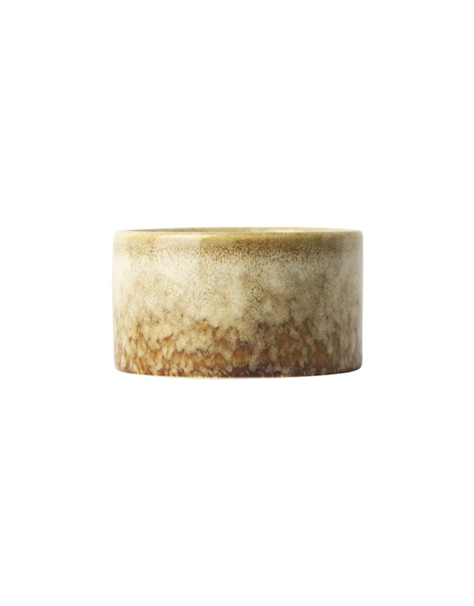 Kaars Keramisch 8,5 x5cm-beige