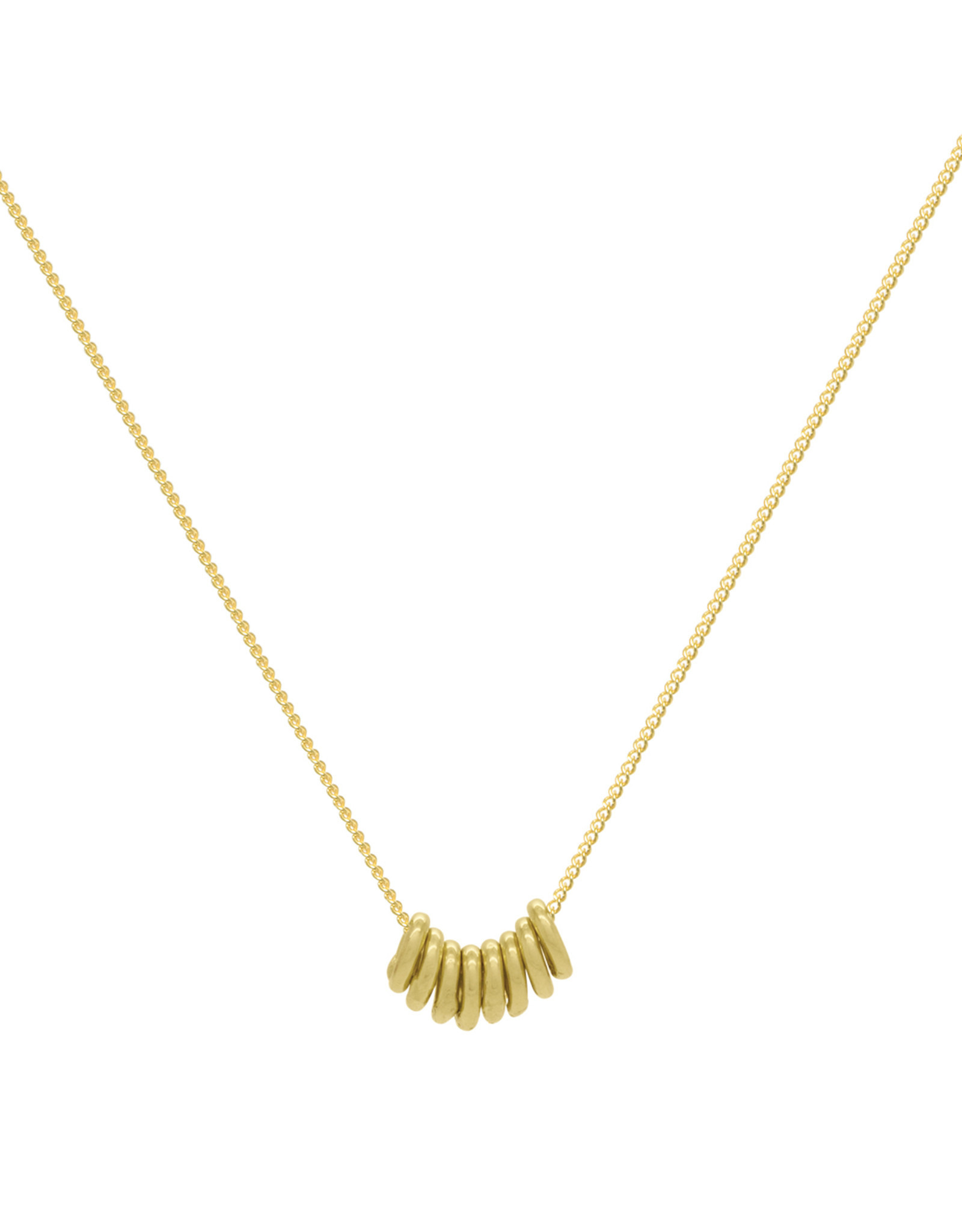 Flawed Ketting Connected-gold