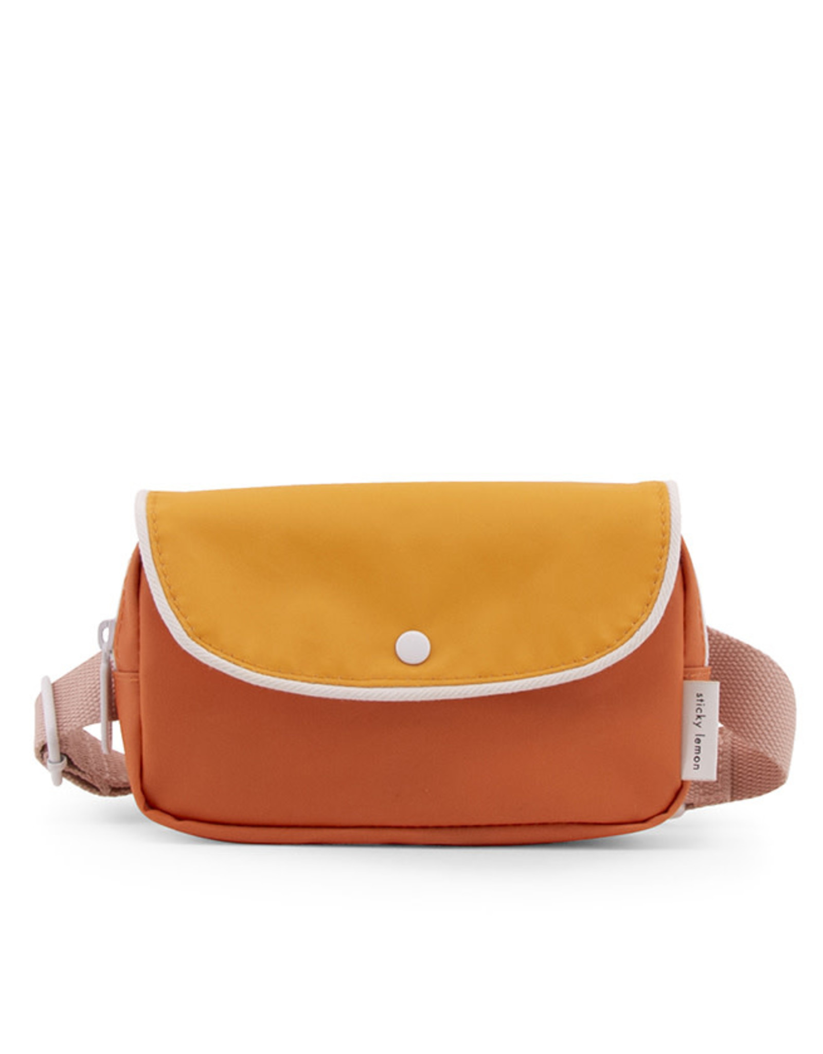 Sticky Lemon Fanny Pack Wanderer-carrot orange/sunny yellow/candy pink
