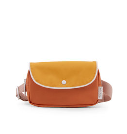 Sticky Lemon Fanny Pack Wanderer-carrot orange/sunny yellow/candy pink