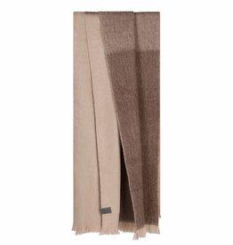 Bufandy Alpaca sjaal Ombre-ash rose