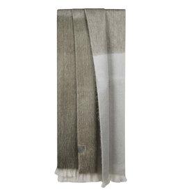 Bufandy Alpaca sjaal Ombre-silver eucalyptus