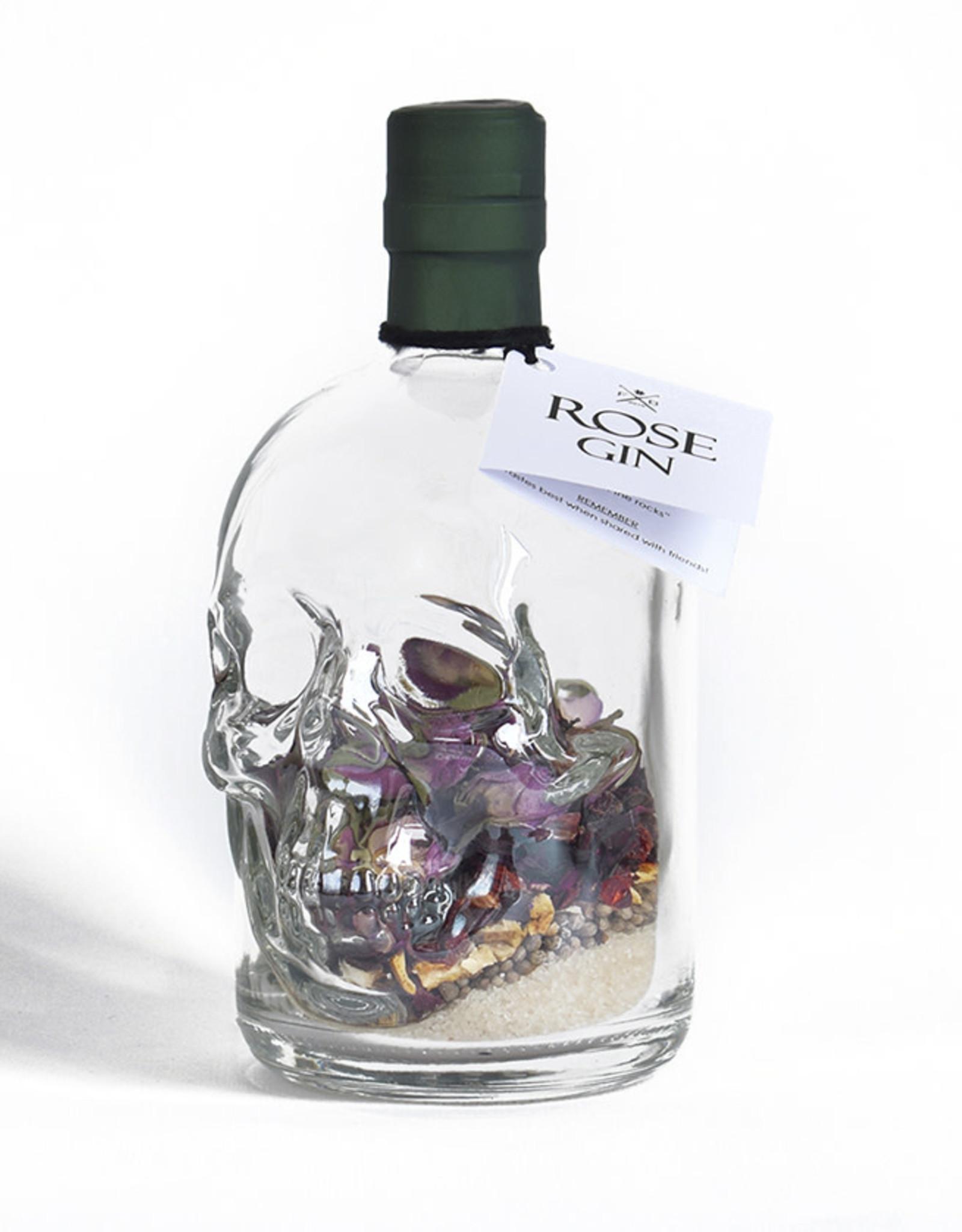 Festival in a Bottle Pirate Skull Rose Gin-Fles 450ML