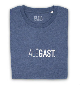 Kleir T-Shirt Biokatoen ALéGAST-blauw