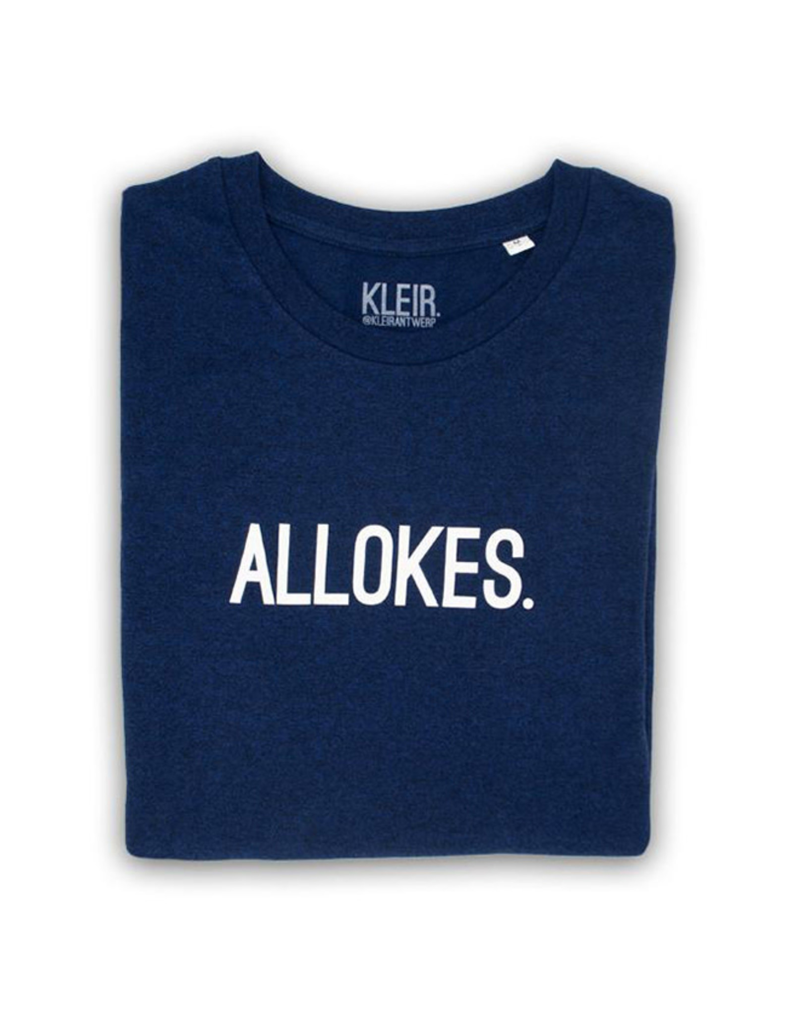 Kleir T-Shirt Kinderen Biokatoen ALLOKES-blauw