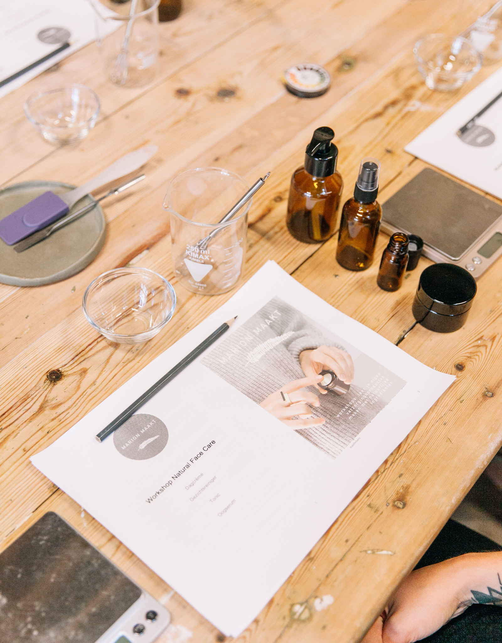 Marion Maakt 5/12 voormiddag: Natural face care