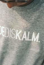 Kleir T-Shirt Kinderen Biokatoen DOEDISKALM-grijs