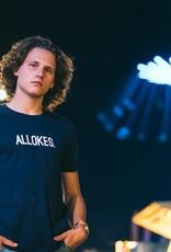Kleir T-Shirt Biokatoen ALLOKES-donkerblauw