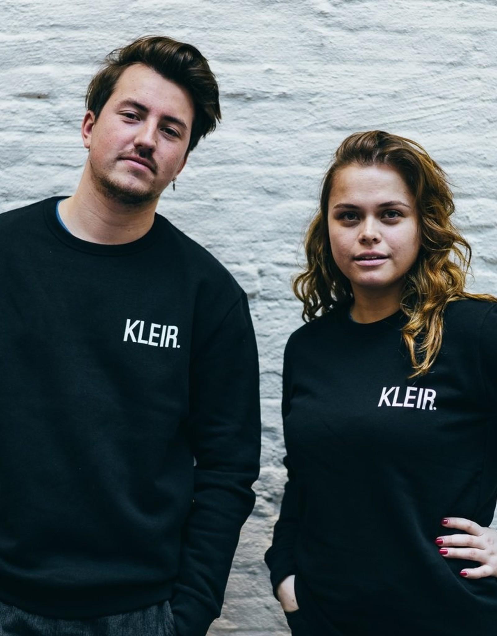 Kleir Sweater Biokatoen KLEIR-zwart
