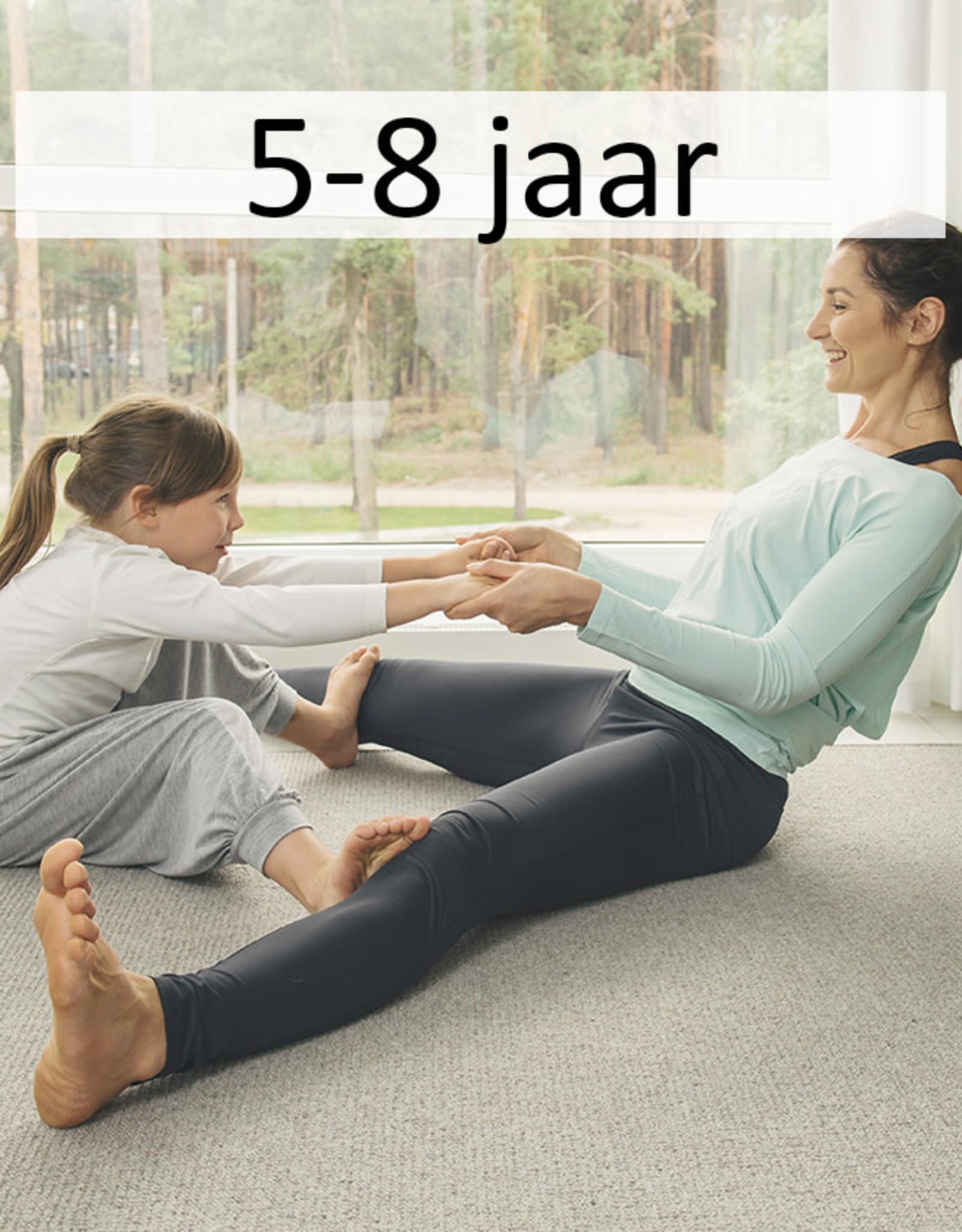 Yogazo 15/11 namiddag: Ouder-kind yoga 5-8jaar
