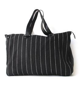 Anna Nera Big Bag Jute XL 57x40cm-black