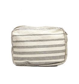 Anna Nera Toilettas Shades M 22x13cm-black stripes