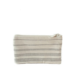 Anna Nera Wallet Shades M 20x12cm-black stripes