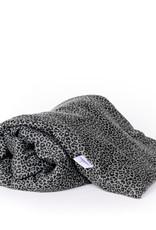 Janneke's Warmtesjaal Warmtesjaal Katoen-leopard groen