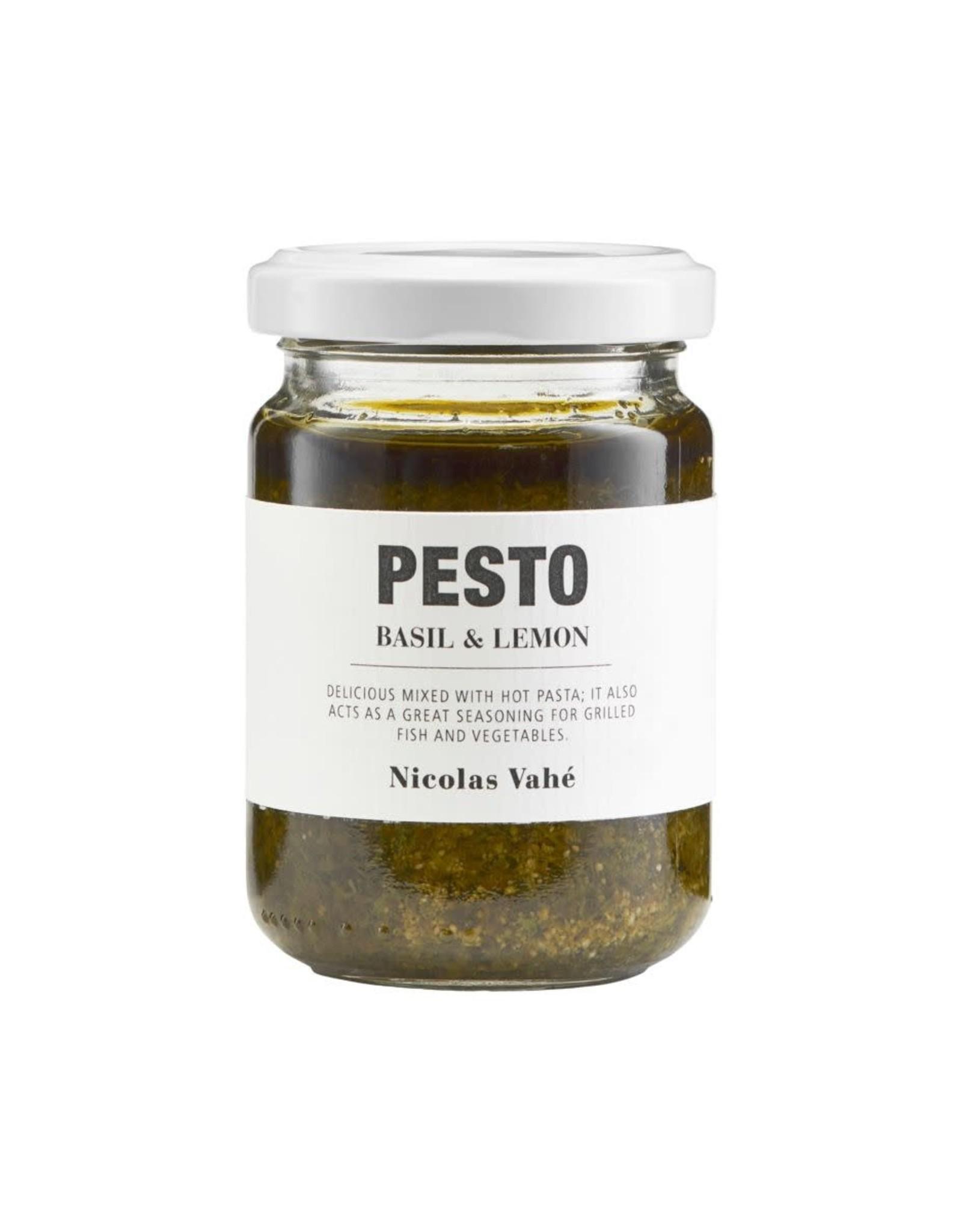 Nicolas Vahé Pesto-basil & lemon