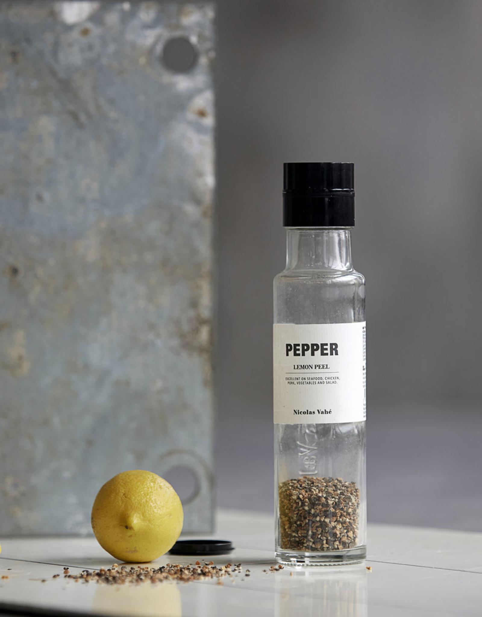 Nicolas Vahé Nicolas Vahé Pepper-lemon peel