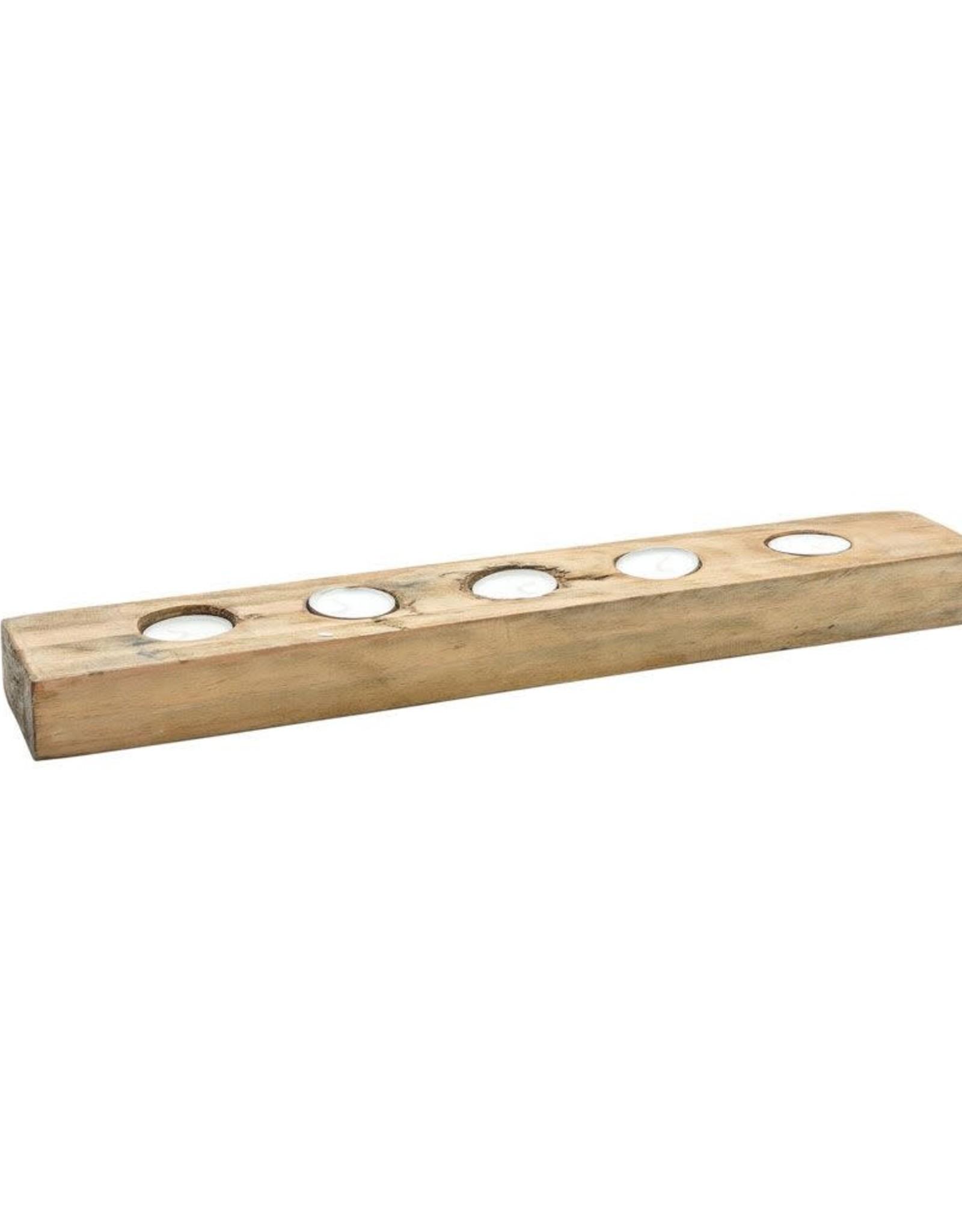 Light Plank Small 5pcs.-reclaimed wood