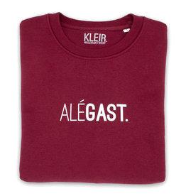 Kleir Sweater Biokatoen ALÉGAST-bordeaux