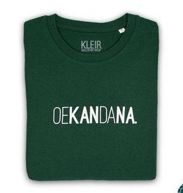Kleir T-Shirt Biokatoen OEKANDANA-groen