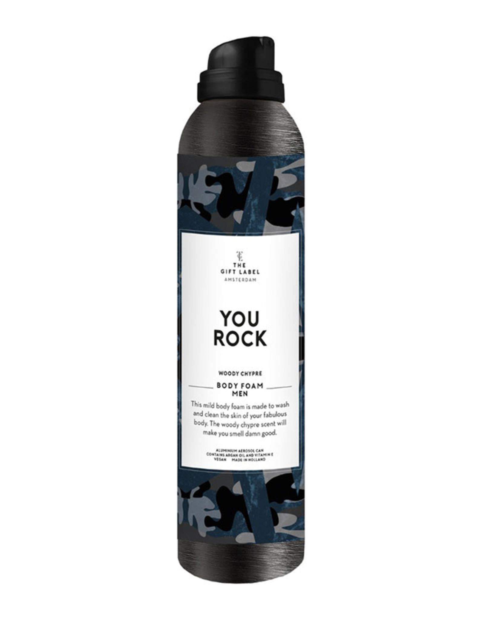 The Gift Label Body Foam Men-You rock