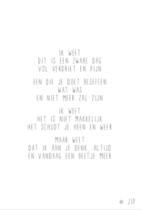Gewoon Jip Wenskaarten Set ALTIJD DICHTBIJ mix-15 stuks